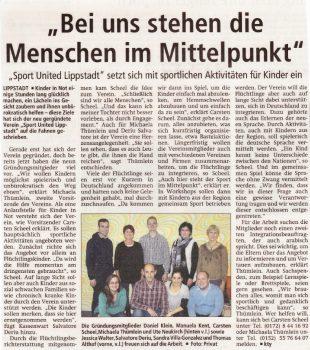 Zeitungsartikel_Vereinsgründung
